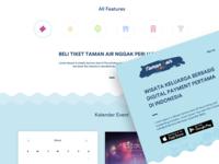 Taman Air Company Website Design