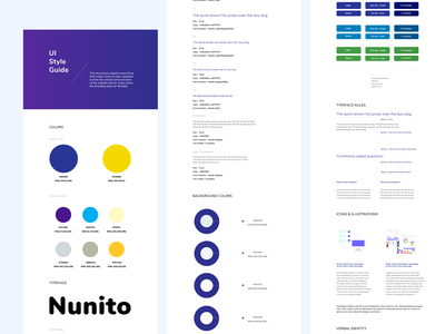UI Style Guidelines style guides identity guidelines style guidelines styleguide visual design ui design ui