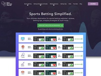 Sports Betting Website Concept