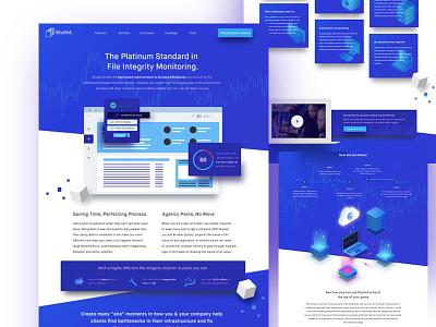 Stuckd Landing Page Concept saas apps web copywriting visual design landing page ux ui