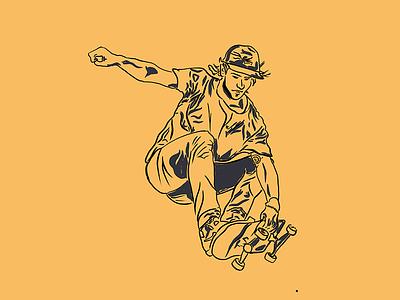 Adventure Sports Illustration skateboard graphics skateboarding skateboards skateboard for adults adventurer adventure time ipad procreate digital illustration digital arts skateboard man guy illustration sports adventure