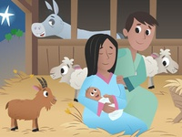The Bible App for Kids - The First Christmas Gift