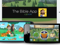The Bible App for Kids - Launches tomorrow!