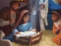 World Vision Christmas Card - Nativity