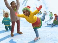 World Vision Christmas Card - Snowy Day
