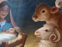 World Vision Christmas Card - Nativity Animals