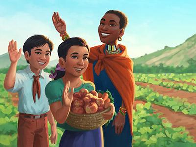 World Vision - Holiday Storybook