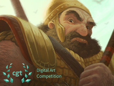 Goliath - CGTrader Digital Art Competition photoshop character illustration digital painting