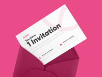 One Dribbble Invitation