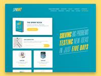Sprint - Landing page