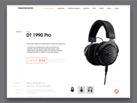 Daily UI #012 - Product Page card design ui ux typography branding brand daily 100 france flat landing sales page minimalist minimal webdesign page product e-commerce daily ui dailyui