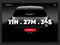 Daily UI #014 - Countdown Timer - Tesla