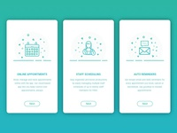 Onboarding Screens - Appointment Booking App