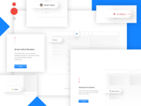 Mail App - Onboarding Screens (Mac OS)