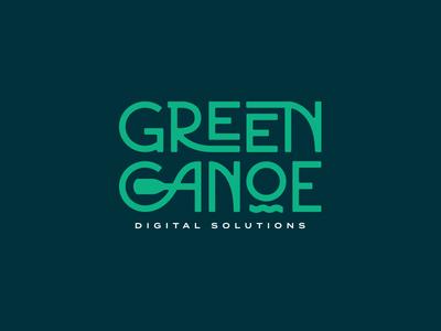 Green Canoe Logo