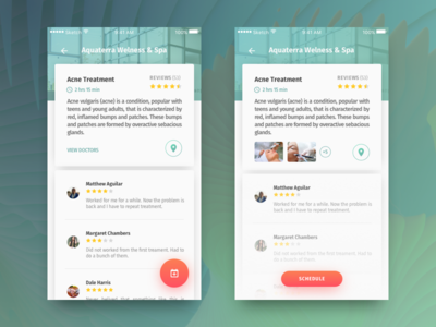 Private Clinic App Concept