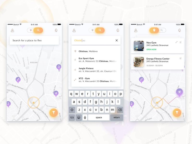 Flex Search app