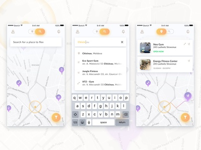 Flex Search app
