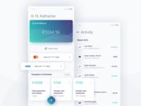Fintech app conceptualization