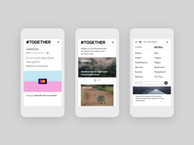 #Together UI Design