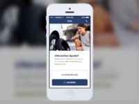 Insurance Mobile App - Home
