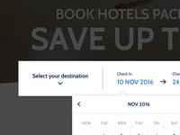 Date Picker - Booking Website