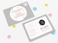 Thank You Cards - Dots and Ink Pots