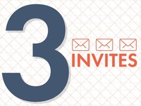 3 Dribbble Invites Giveaway Super Magic Competition