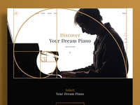 Piano Golden Ratio