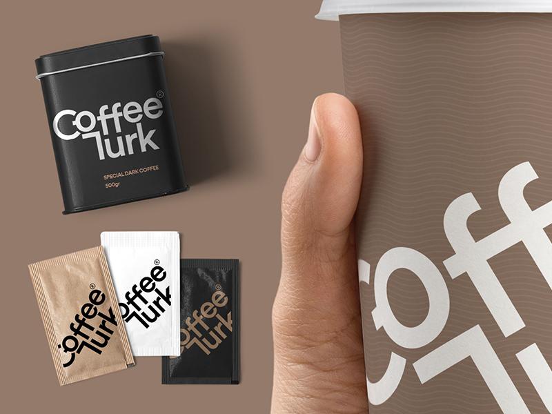 Coffee Turk identity brand turkish turk coffee design logo