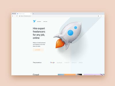 Freelancer Redesign