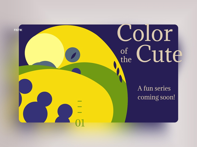 Colors of the Cute vector typography illustrator 2015 illistration golden ratio design daily art colors colorpalette colorful challenge