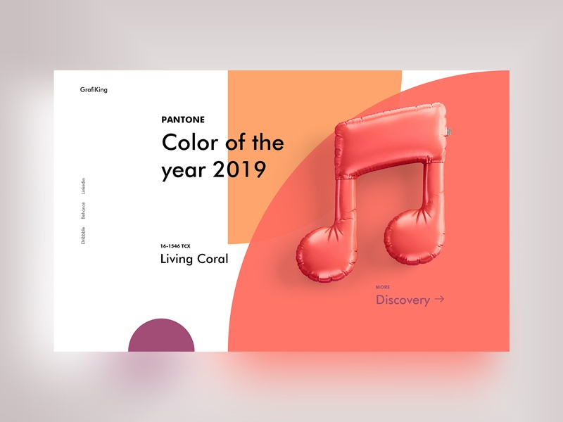 Color of the year 2019 coloroftheyear2019 living coral pantone 2019 pantone colors palette colors color typography illustration iconography web interface experience ux ui design