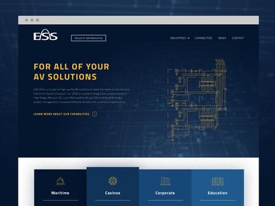 Audiovisual Company Home Page
