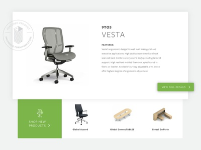 Furniture Featured Products