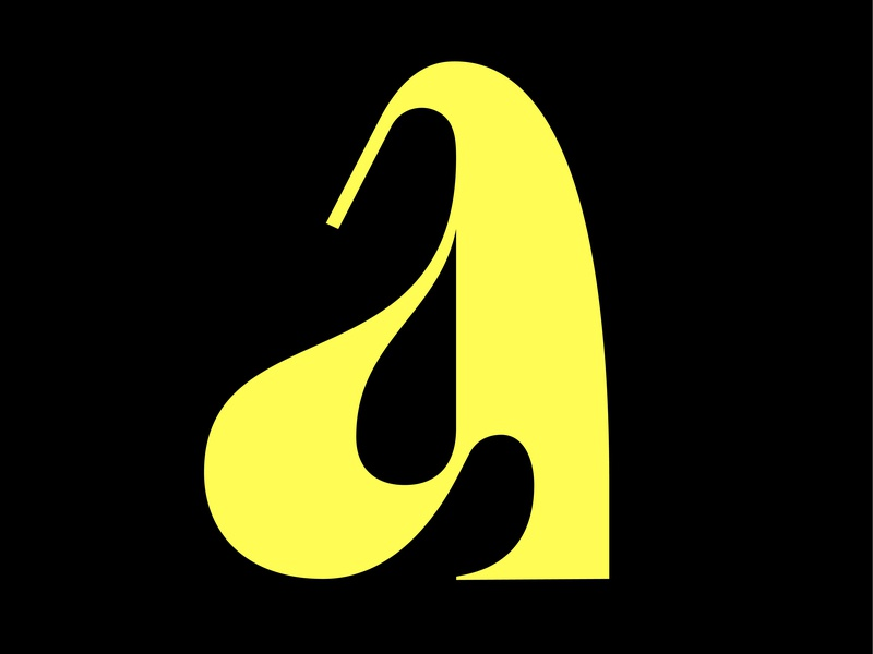 another a glyph design lettering typography type