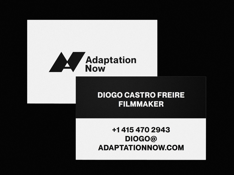 Adaptation Now Refresh / Expansion identity design business logo business cards identity