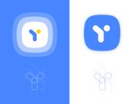 "Branding Logo concept for letter ""Y"""