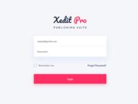 Web App  Login Page