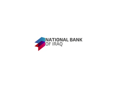 National Bank of Iraq Logo icon branding brand currency money banking bank iraq logo