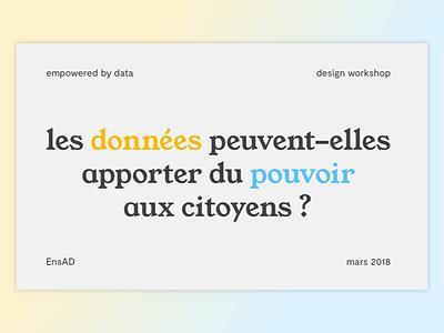Workshop visual identity french design font visual identity