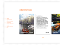 Roboat website — detail