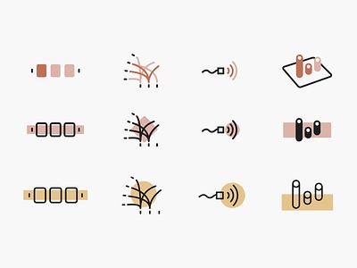 Icon research branding visual identity designer portfolio personal branding minimal ui symbols ui design icon