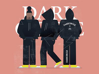 Fits: DarkCircle darkcircle fashion illustration fashion vector art flat design vector illustration vector illustration