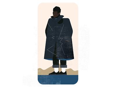 Fits: Nanamica fashion illustration fashion vector art flat design retro vector illustration vector illustration