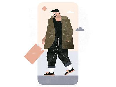 Fits: handdongs fashion illustration fashion vector art flat design vector illustration vector illustration