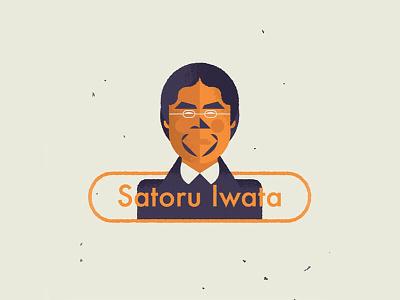 """""""Nintendo's Satoru Iwata dies at 55"""" - BBC News vector illustration satoru iwata illustration rip iwata satoru news bbcnews bbc nintendo"""