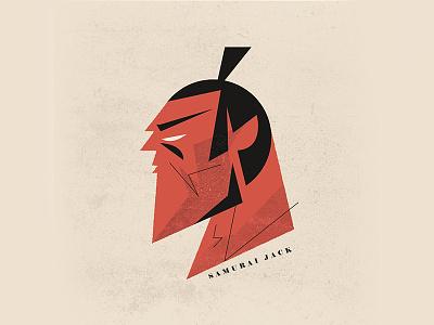 """Samurai Jack - """"Samurai Jack"""" samurai jack minimal illustration homage retro illustration jack samurai"""