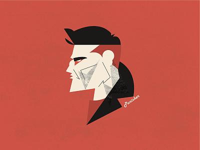Daredevil - The Punisher the punisher punisher portrait vector illustration frank frank castle daredevil netflix marvel