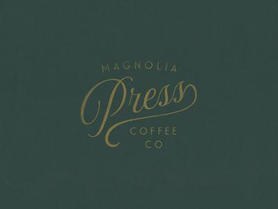Magnolia Press | Script Logo